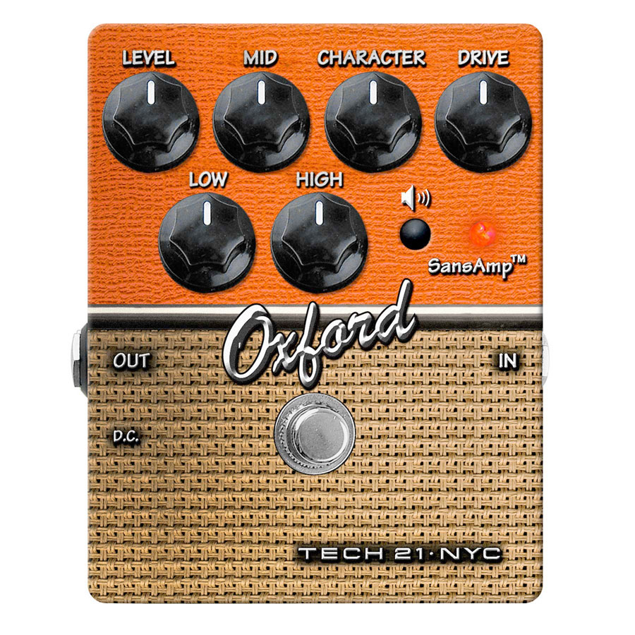 Oxford Distortion Guitar Effects Pedal