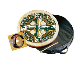 Waltons 18-inch Bodhran Package - Kilkenny Package Contents