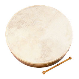 18-inch Bodhran Package - Classic Brown