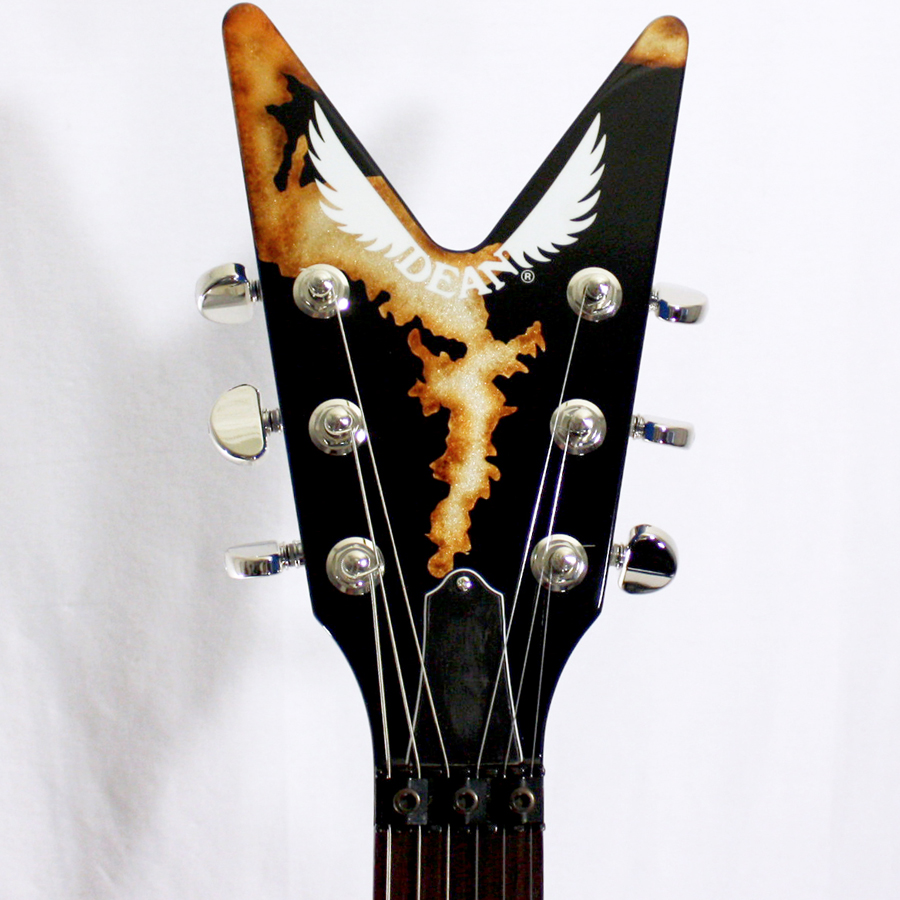 Dean USA ML Rust From Hell - Limited Edition 52 of 100 Headstock Detail