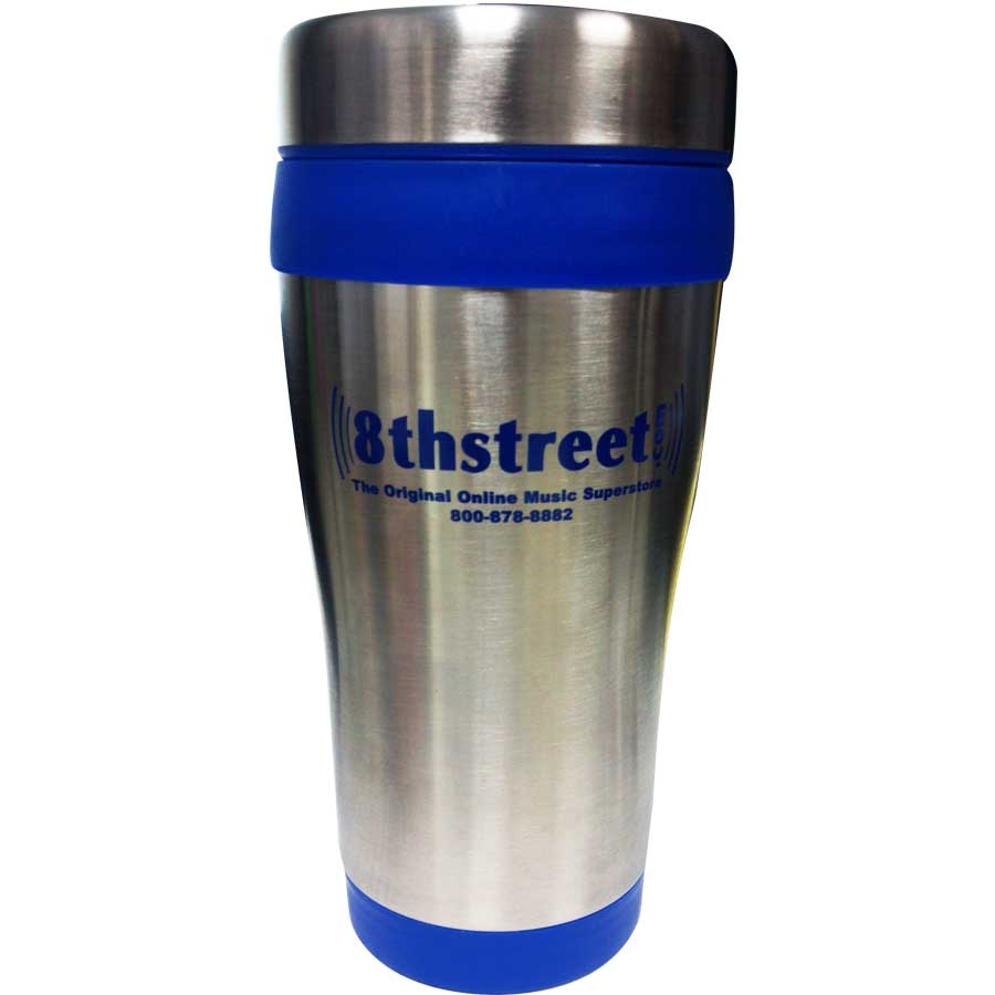 Shure 8th Street Stainless Steel Drinkware Rear View
