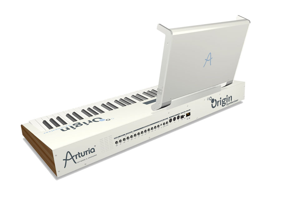 Arturia Origin Keyboard Rear View