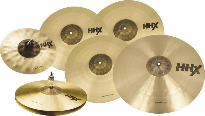 Sabian 15007XBS HHX Super Set Included Cymbals