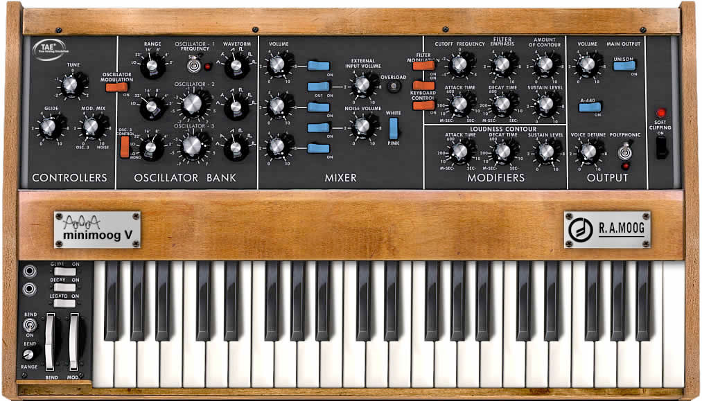 Arturia V Collection 2 Minimoog V