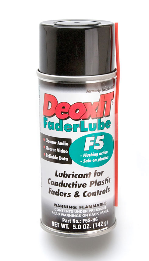 CAIG DeoxIT Fader Lube