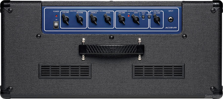 Vox AC15VR Top View