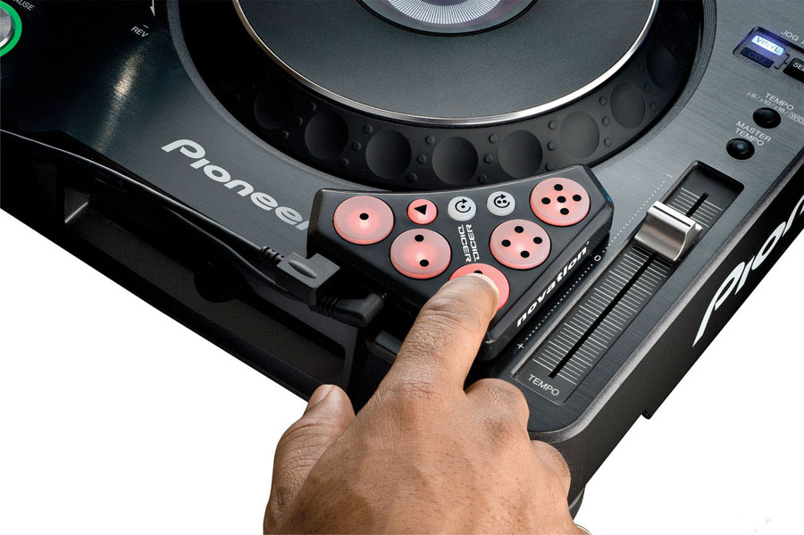 Novation Dicer With DJ Console