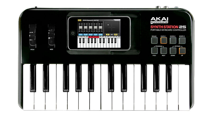 Akai SynthStation 25 Top View