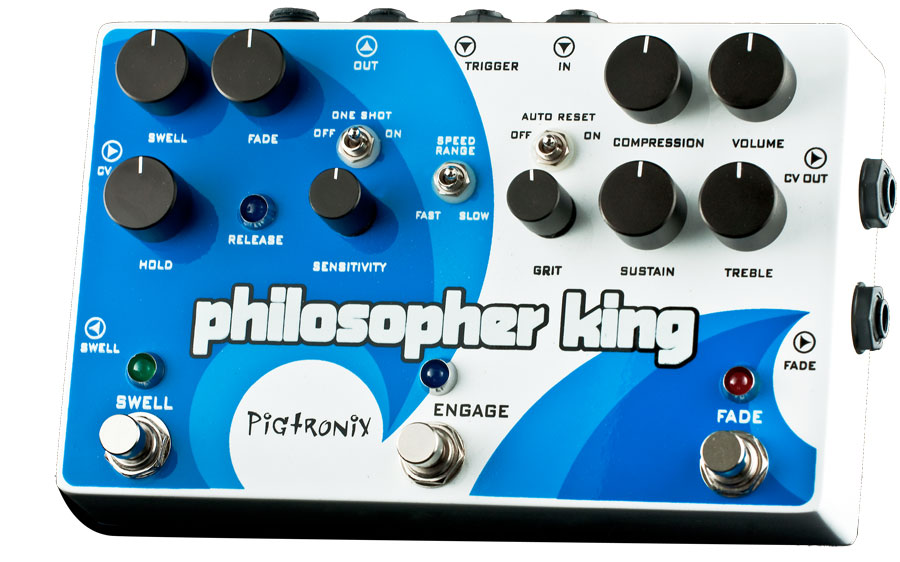 Pigtronix Philosopher King Angled View