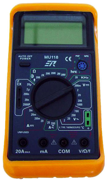 MU118 Digital Multimeter