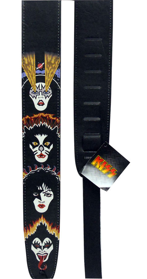 Planet Waves Kiss Strap Collection Rock and Roll Over