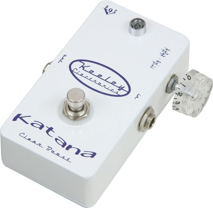 Keeley Electronics Katana Pre Amp Clean Boost Right View