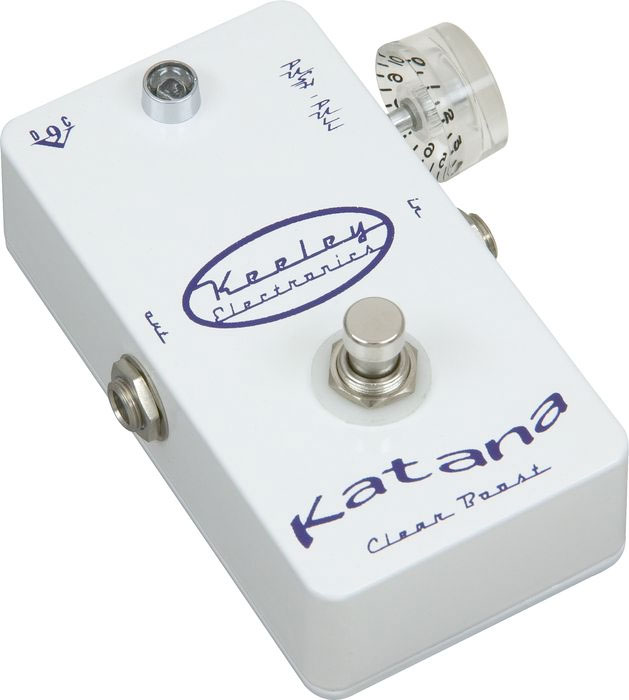 Keeley Electronics Katana Pre Amp Clean Boost Left View