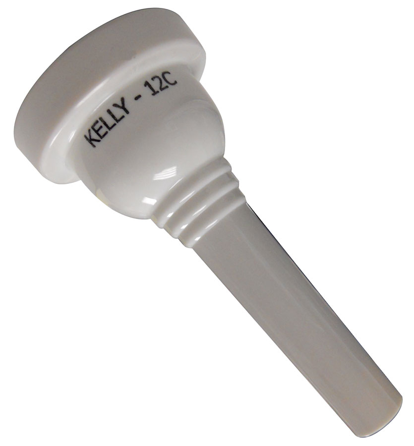 Kelly Mouthpieces Trombone 12C White Wedding