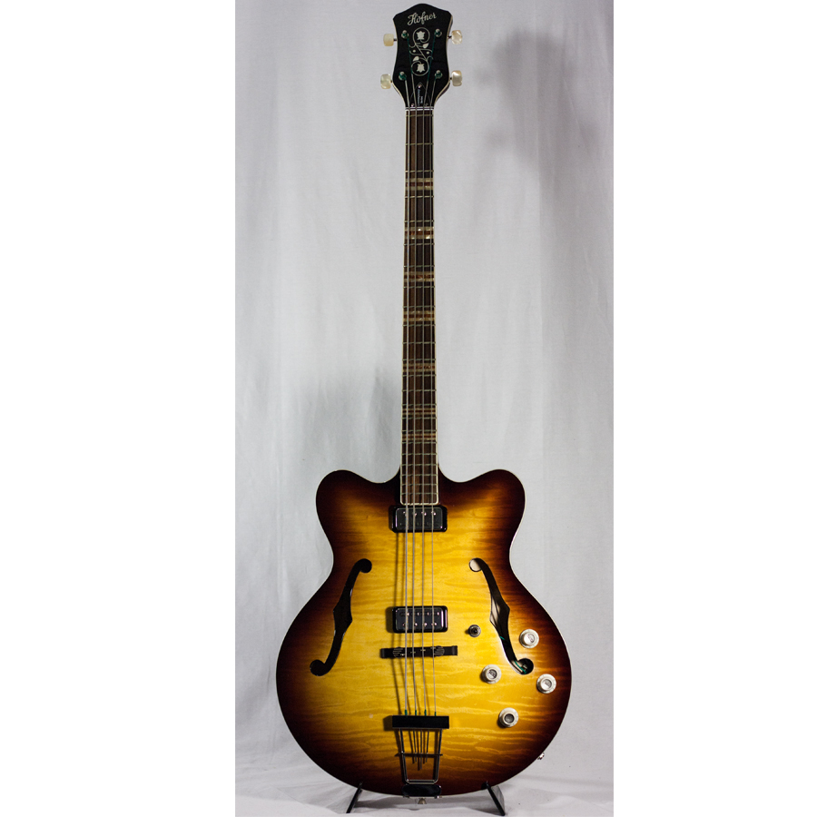 Contemporary Series Verythin Bass Guitar - Sunburst w/ Case