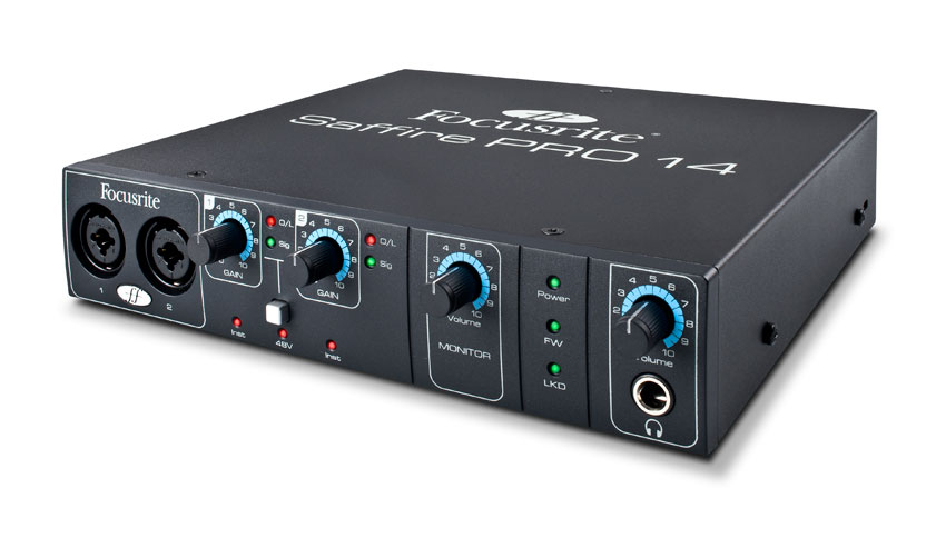 Focusrite Saffire Pro 14 Right View