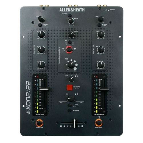 Allen Heath Xone:22 Top View