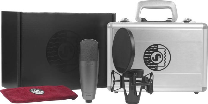 Includes Carry Case, Mic Clip and Shockmount