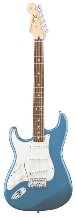 Standard Stratocaster Left-Handed - Lake Placid Blue