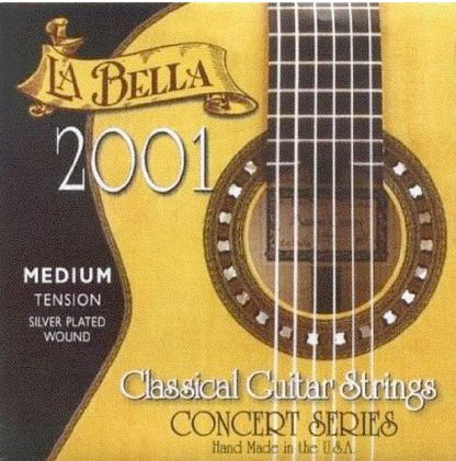 2001 Medium Tension Classic Guitar Strings