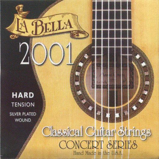 2001 Hard Tension Classic Guitar Strings