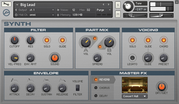 Native Instruments Komplete Elements Screenshot 4