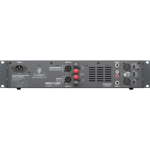 Behringer EPQ1200 Rear View