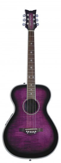 Pixie Acoustic-Electric - Plum Purple Burst