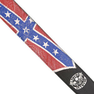 Lynyrd Skynyrd Collection Guitar Strap - Flag
