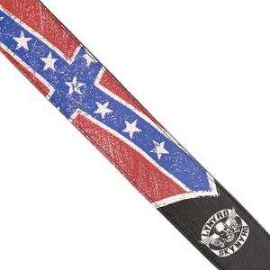 Lynyrd Skynyrd Collection Guitar Strap - Flag