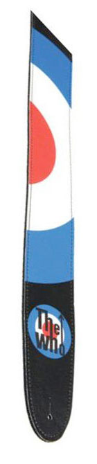The Who Collection Guitar Strap - Bullseye