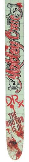 Motley Crue Collection Guitar Strap - Dr. Feelgood