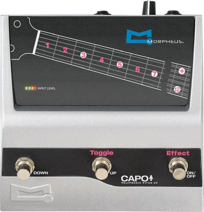 Capo Guitar Effects Pedal