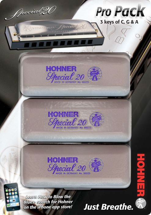 Special 20 Harmonica Pro Pack