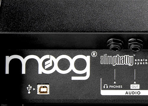 Moog Slim Phatty Firewire Detail