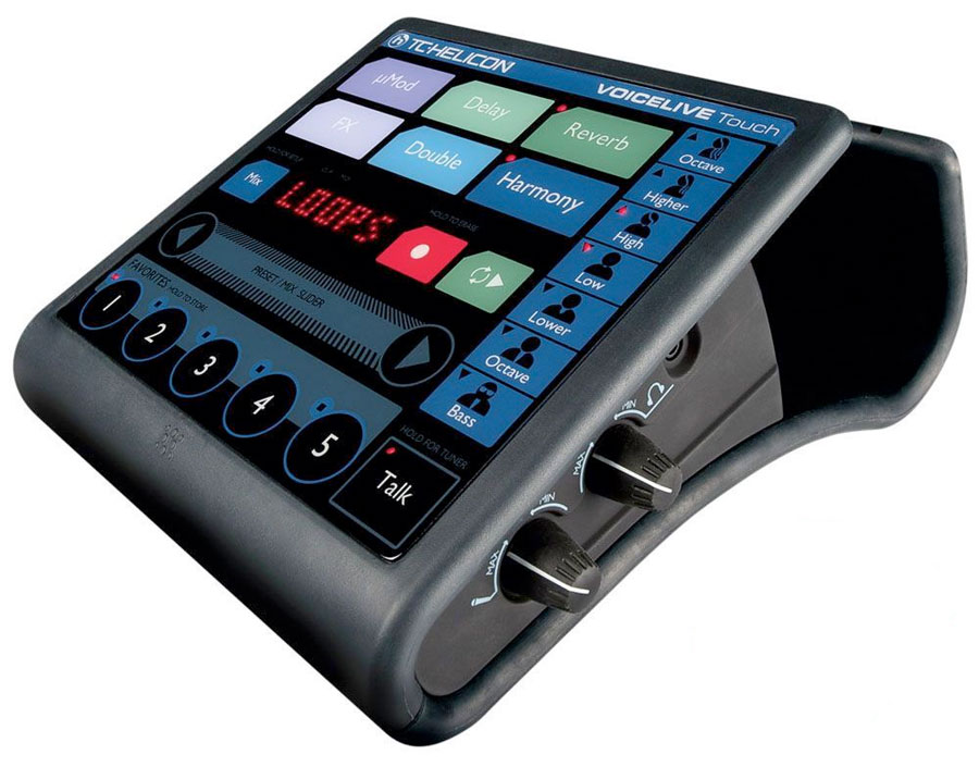 TC Helicon VoiceLive Touch Angled View