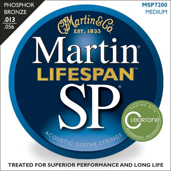 SP 7200 Phosphor Bronze Acoustic Strings Medium