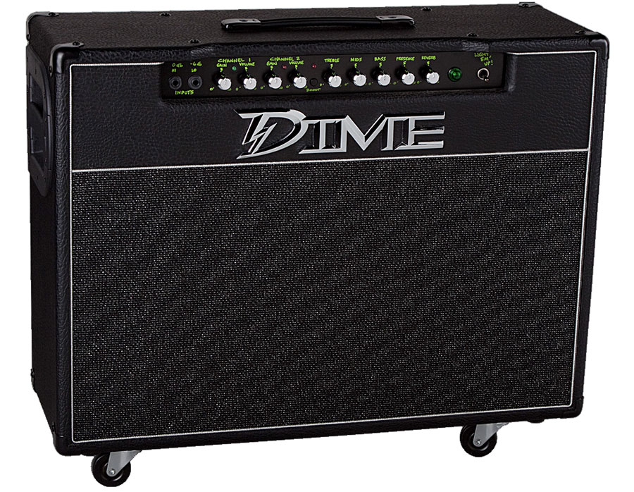 Dime Amplification D100C Angled View