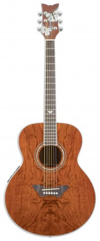 Butterfly Jumbo Acoustic-Electric - Bubinga