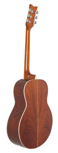 Daisy Rock Butterfly Jumbo Acoustic-Electric - Bubinga Rear View