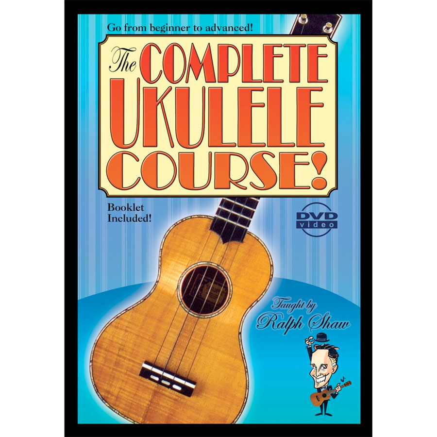 The Complete Ukulele Course - DVD