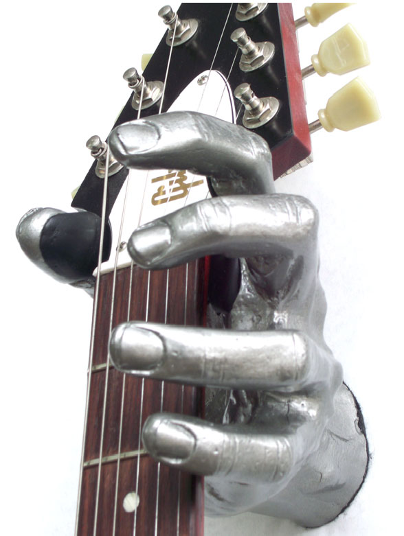 Grip Studios Guitar Wall Hanger Custom Series - Scoppio With Guitar - Shown in Metallic Mayhem