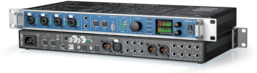 RME Audio Fireface UFX Front and Back