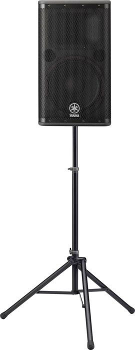 Yamaha DSR112 Active Loudspeaker On Stand