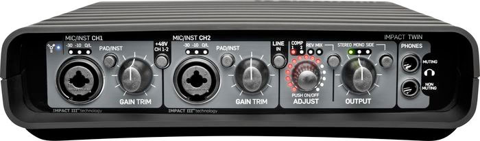 Impact Twin Next Generation Firewire Interface