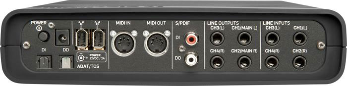 TC Electronic Impact Twin Next Generation Firewire Interface Rear View