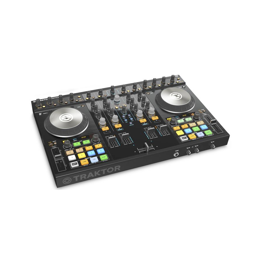Native Instruments Traktor Kontrol S4 MK2 Rear View