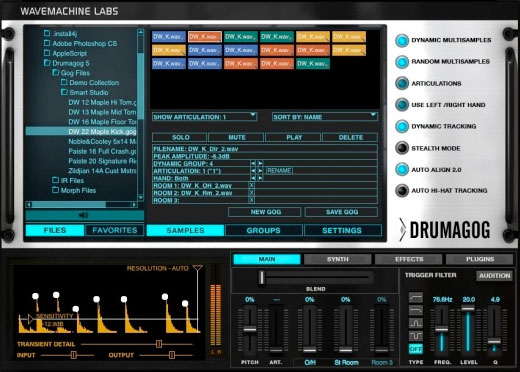 Wave Machine Labs Drumagog 5 Pro Screenshot 1