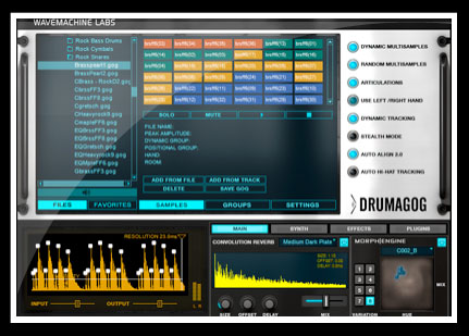 Wave Machine Labs Drumagog 5 Pro Screenshot 3