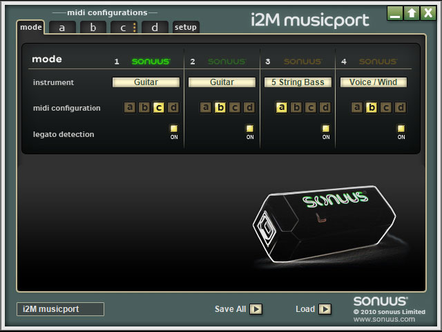 Musicport Software